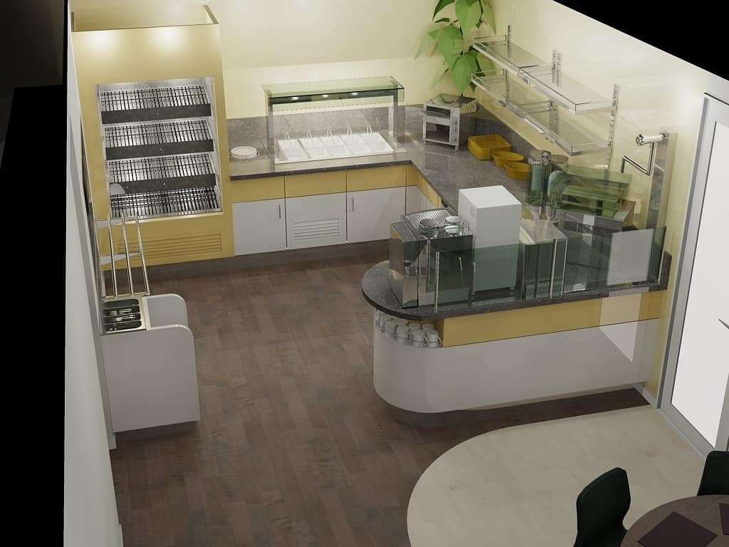Staff canteen design-1