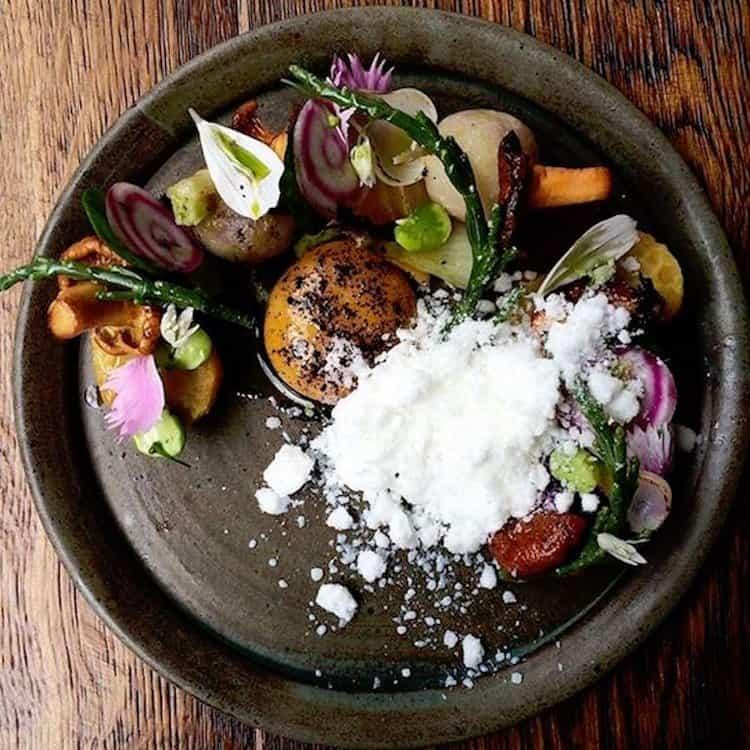 Benedicts-vegetarian-dish