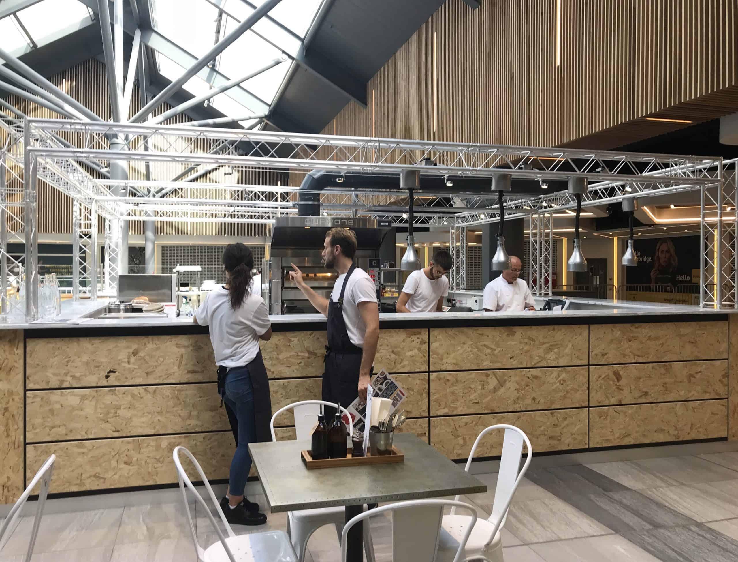 Améilie Flammekueche Café Servery Cambridge
