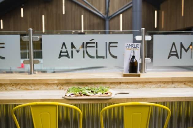 Améilie Flammekueche tables Cambridge