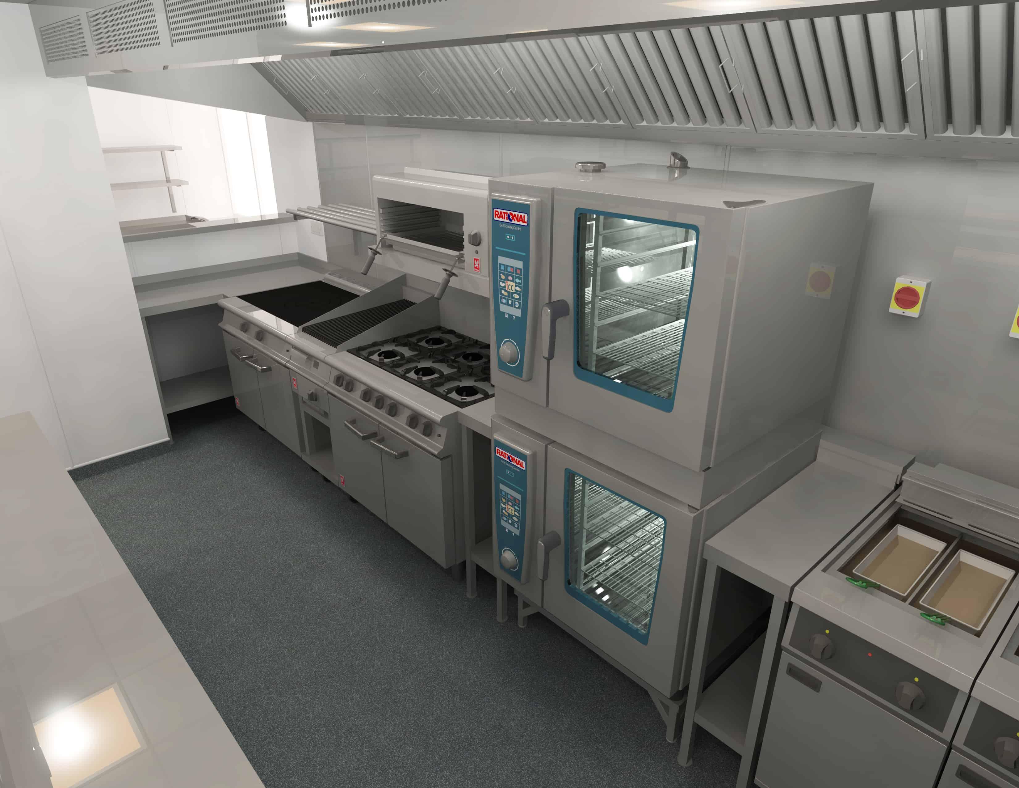 EFD - Theatre Royal Norwich Kitchen Design 8