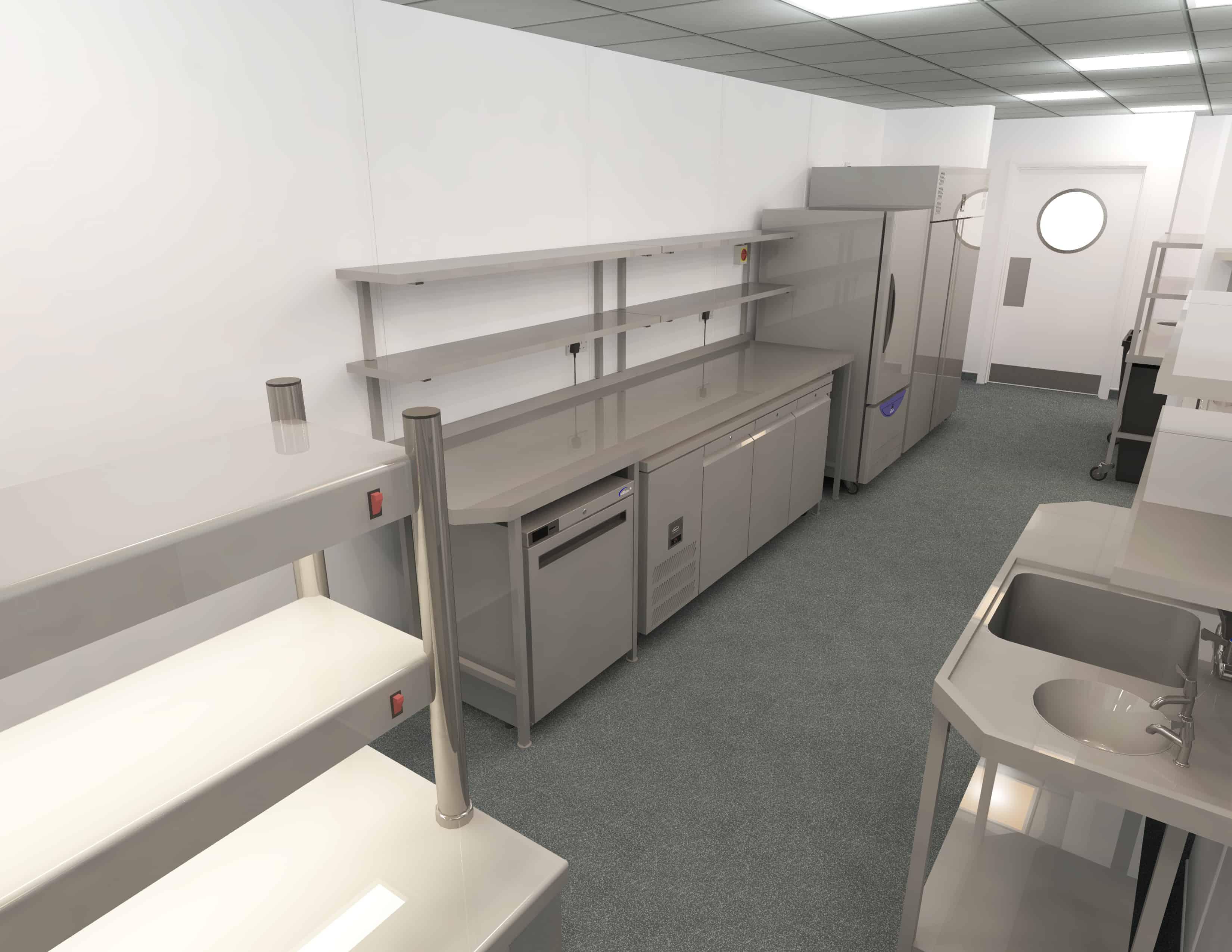 EFD - Theatre Royal Norwich Kitchen Design 7