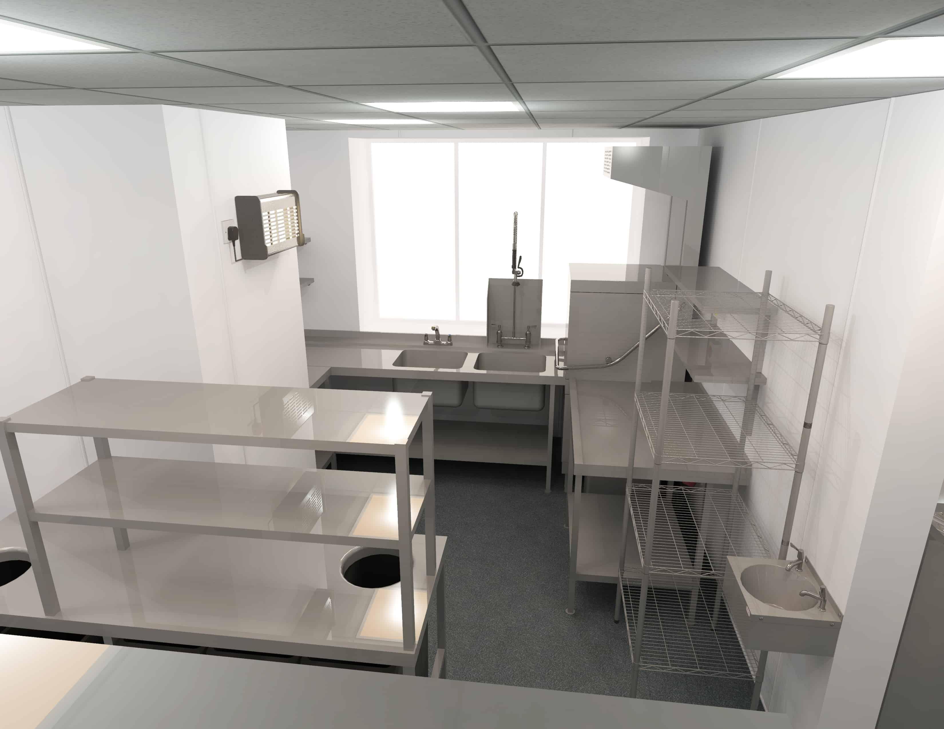 EFD - Theatre Royal Norwich Kitchen Design 6