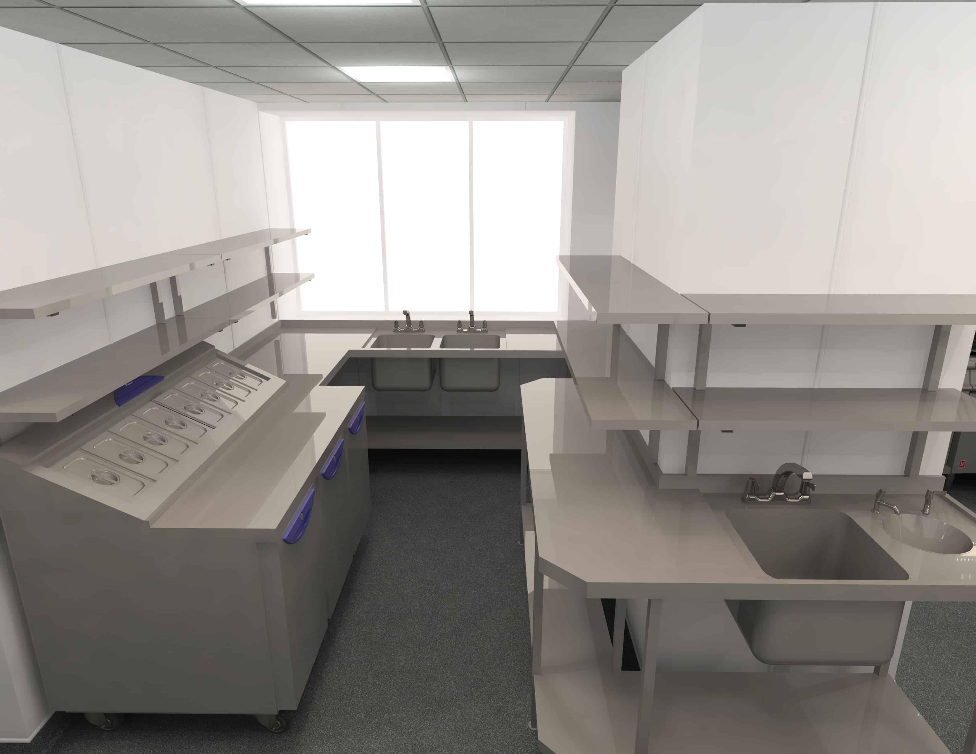 EFD - Theatre Royal Norwich Kitchen Design 5
