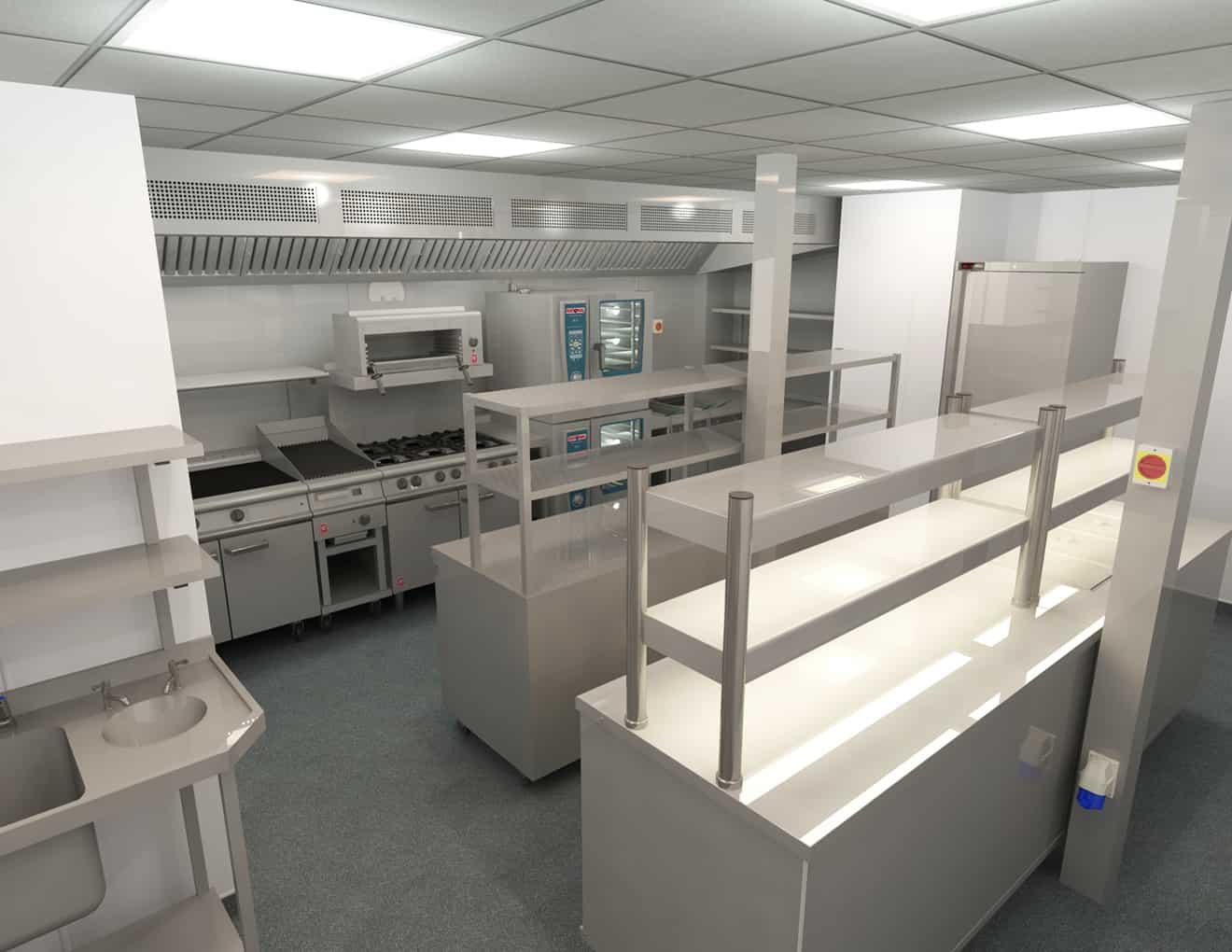 EFD - Theatre Royal Norwich Kitchen Design 4