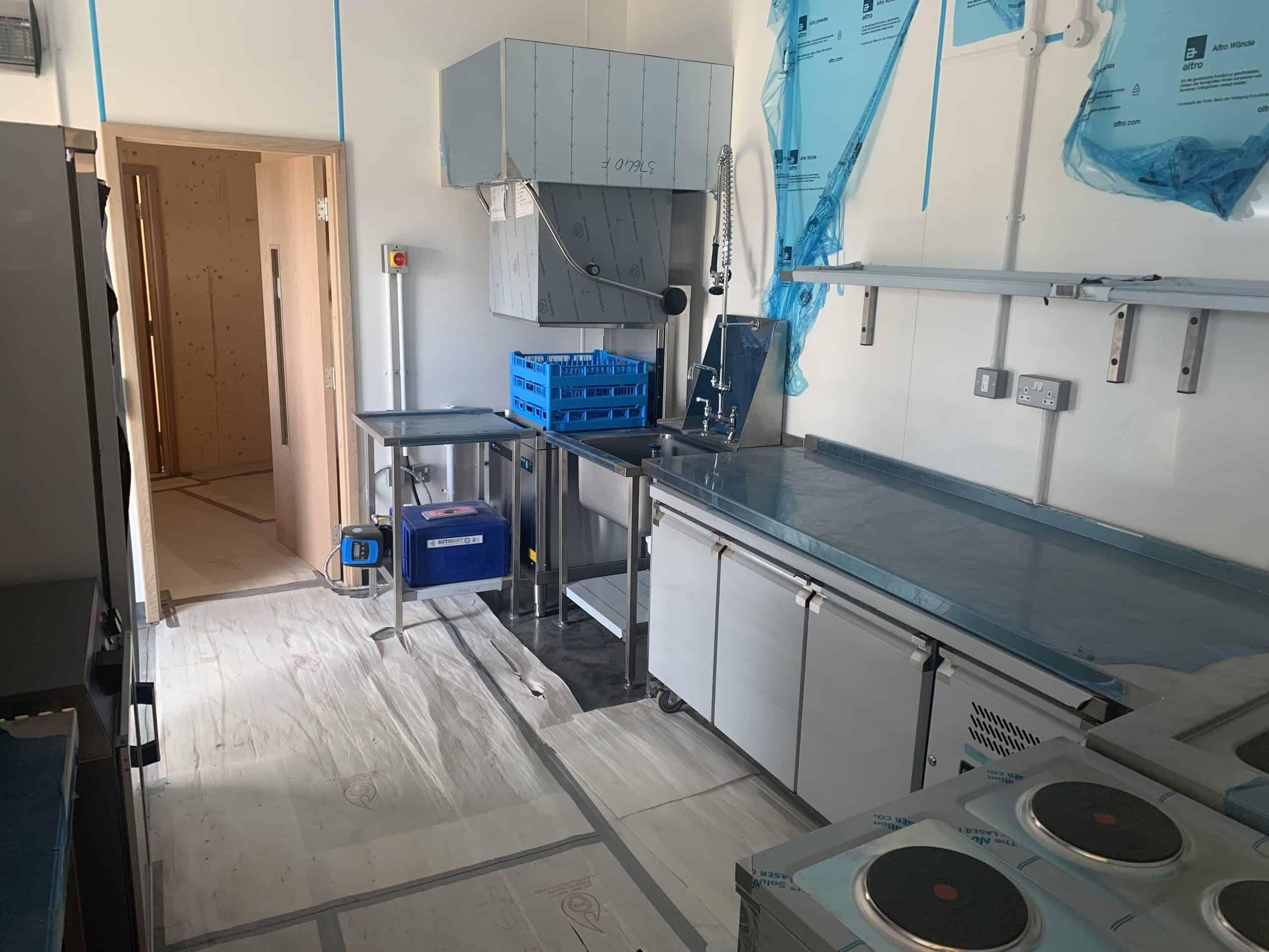 Commercial Kitchen Equipment at Suffolk Wildlife Trust