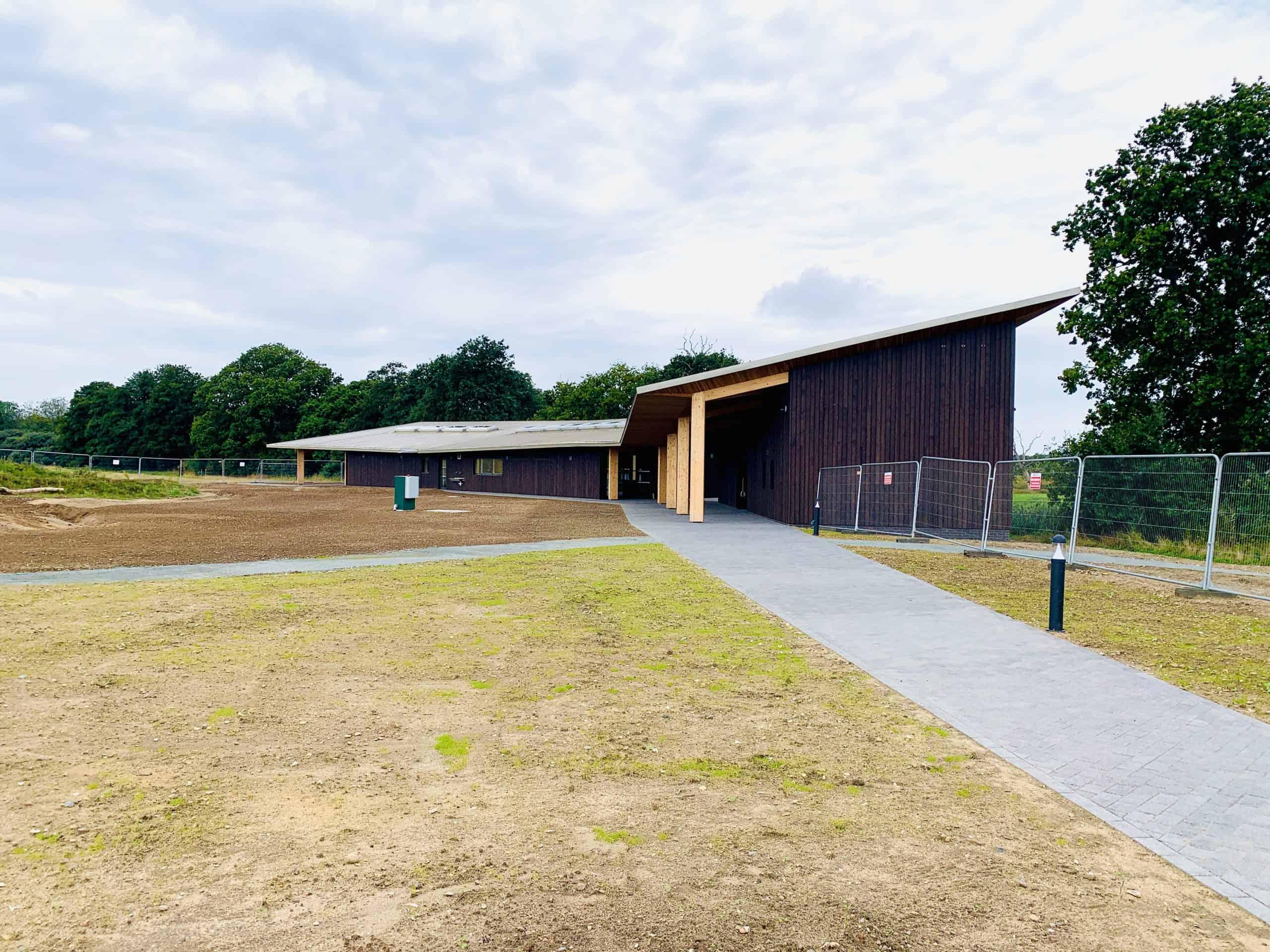 Exterior Shot of Suffolk Wildlife Trust
