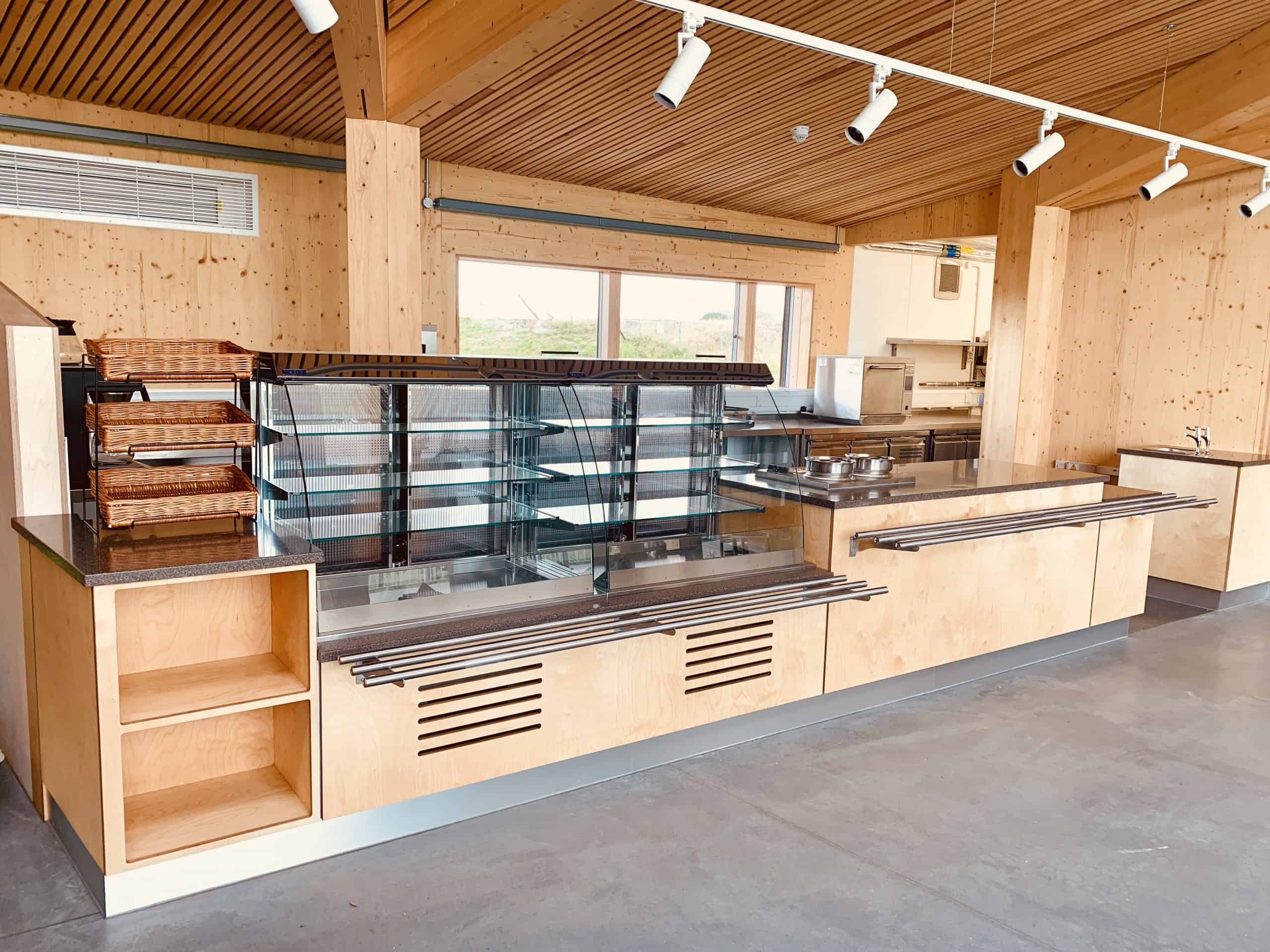 Servery Area at the Suffolk Wildlife Trust