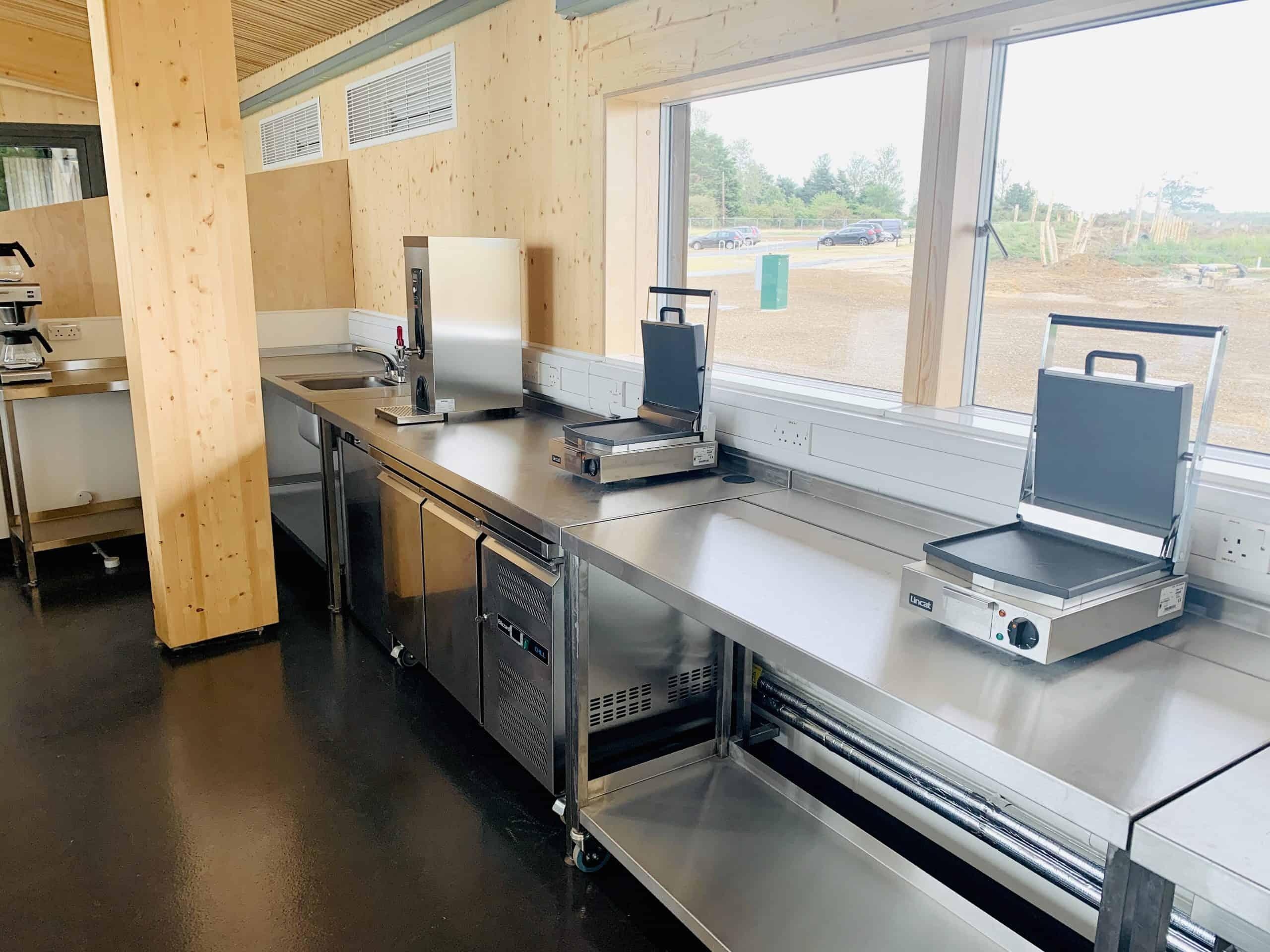 Commercial Catering Equipment for Suffolk Wildlife Trust