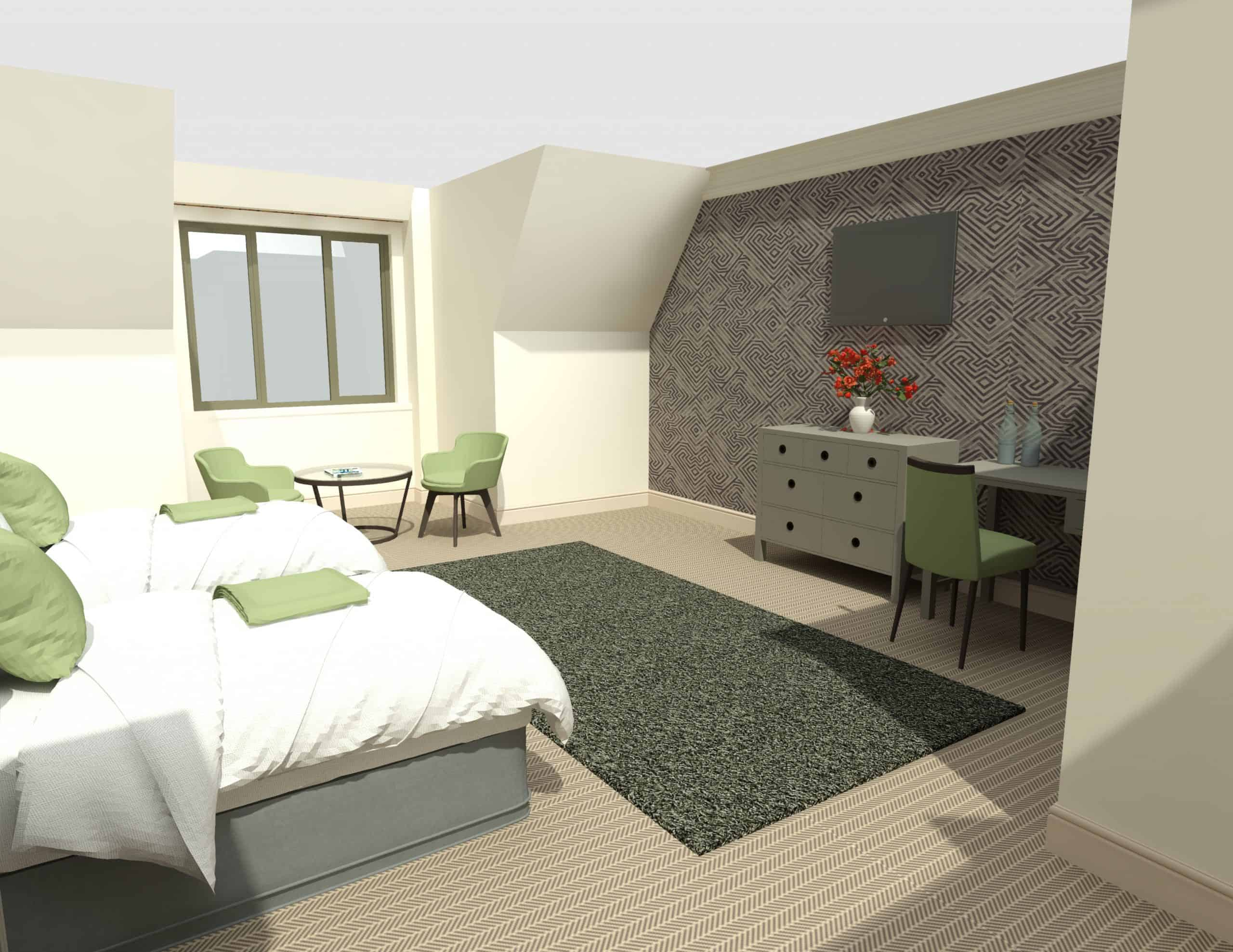 E1282 3Dmodel03 - 1st Flr Interior - Heacham Manor-Temp0023