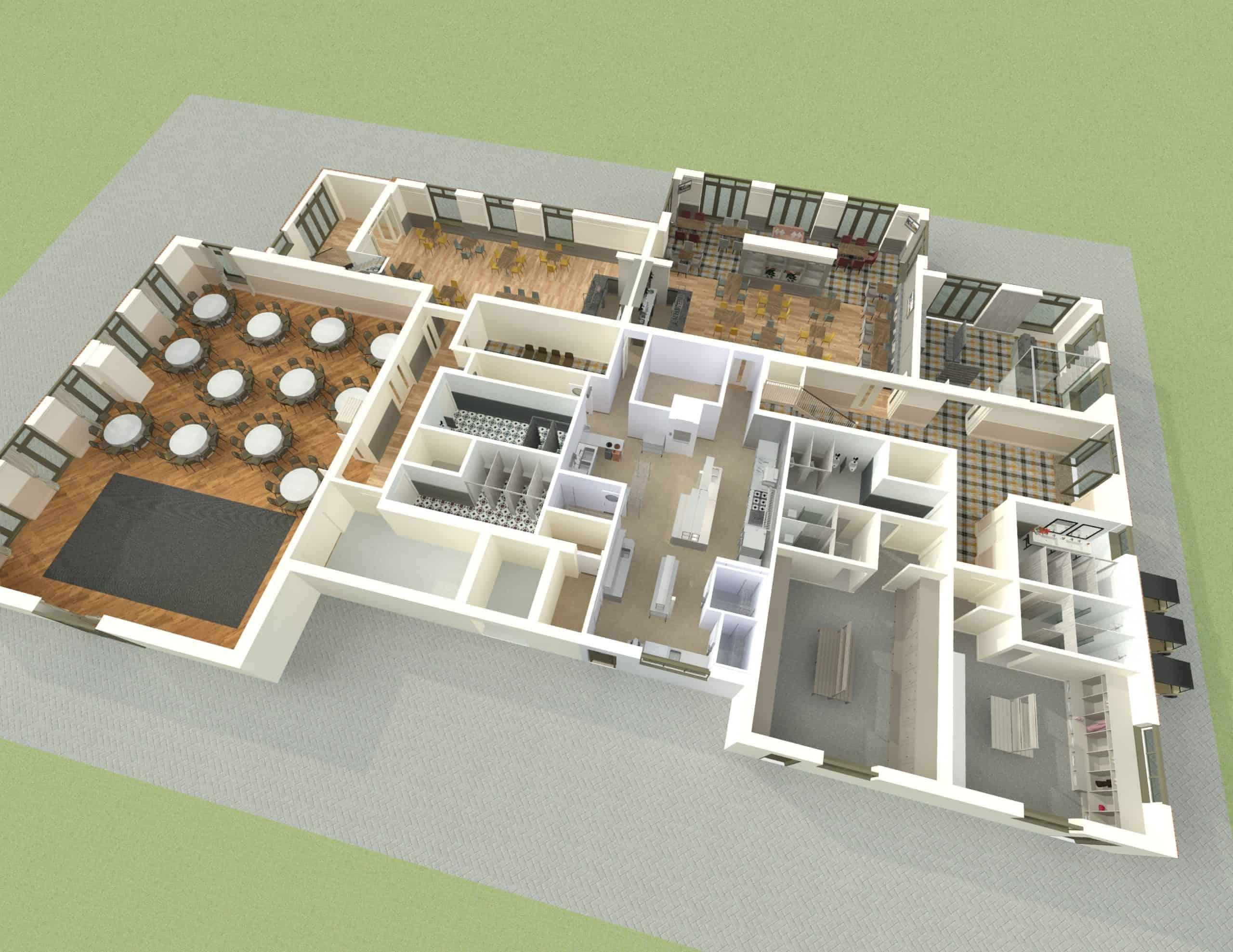 E1282 3Dmodel09 - Interior - Heacham Manor-Temp0007