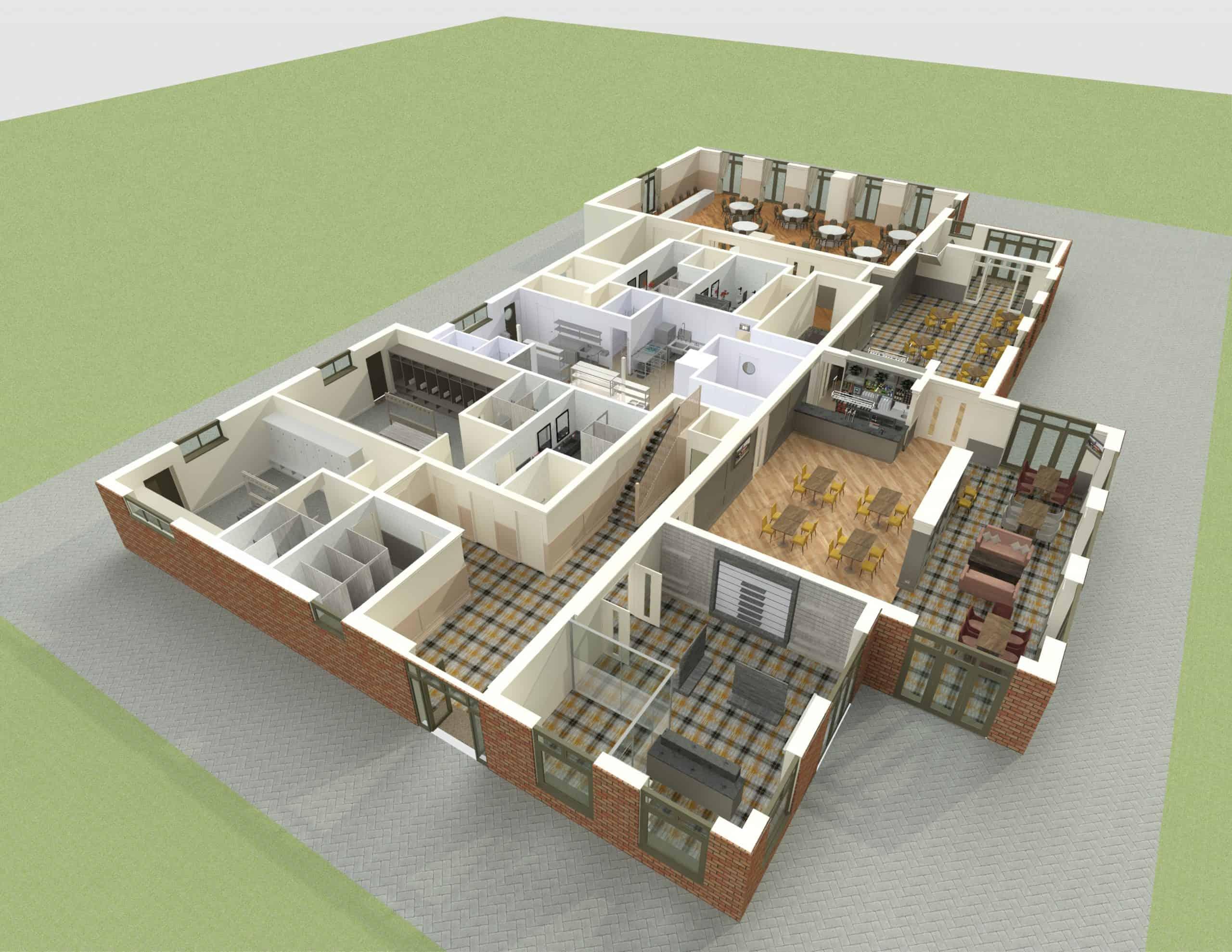 E1282 3Dmodel10 - Interior - Heacham Manor-Temp0004